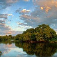 Закат раскрасил облака :: Вячеслав Минаев