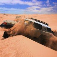 Дороги Африки.  Пустыня Намиб. :: Jakob Gardok