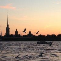 Первый закат наступившего лета. :: Татьяна