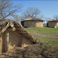 Старинные домики  (Дивногорье.Лискинский район) :: Максим Минаков