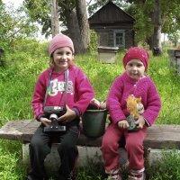 В деревне у бабушки :: Светлана Рябова-Шатунова