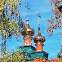 Церковь Ксении Петербургской :: Галина Каюмова