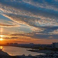 Сибирский закат. :: Виктор Шпаков