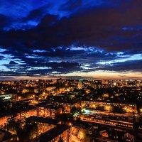Вечер над Иркутском :: Владимир Гришин