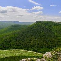окутанная легендами гора Мангуп :: Андрей Козлов