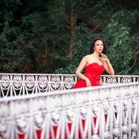 девушка в красном :: Александр Святкин