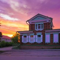 Деревянный дом. :: Nikolay Svetin