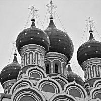 Храм Тихвинской иконы Божией Матери в Алексеевском./пасмурное лето 2017 года/ :: Юрий Ефимов