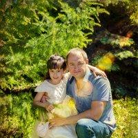 Папа и дочка :: Максим С
