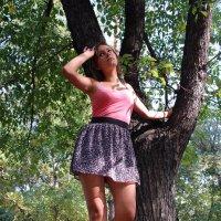 Молодая красивая женщина - это чудо природы. :: Anna Gornostayeva
