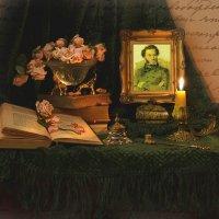 ...пленяясь Пушкинской строкой... :: Валентина Колова