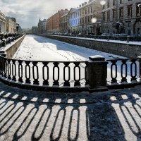 Канал Грибоедова, снег :: Eugene *