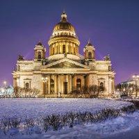 Исаакий зимним утром :: Юлия Батурина
