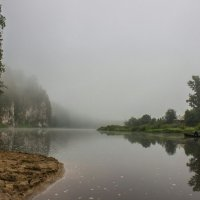 Утро на реке Чусовой :: алексей чусовской