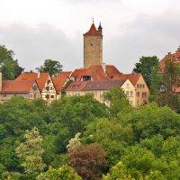 Словно сошедший с картинок средневековый город-сказка Ротенбург-на-Таубере :: backareva.irina Бакарева