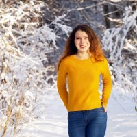 Лучик солнца зимой :: Надежда Журавкова