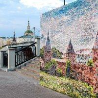 Смоленск. Фотостена на набережной :: Юрий Кузьменок