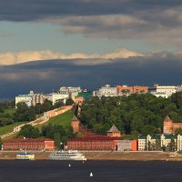 Город стоит над великою русской рекой...Нижний Новгород называется он :: Татьяна Ломтева