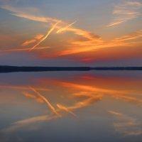 Крылатый закат :: галина северинова
