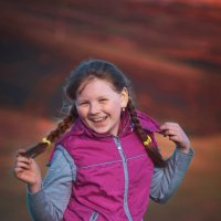 Девочка на марсе :: Николай Яшкин