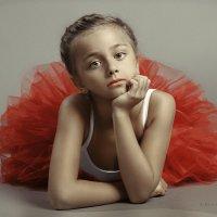 Children's portrait. Photo theater. :: krivitskiy Кривицкий