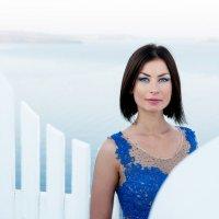 Синий и белый :: Лана Маргарити