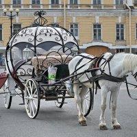 Карета на Дворцовой площади :: Сергей