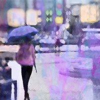 Через промокший город... :: Екатерина Торганская