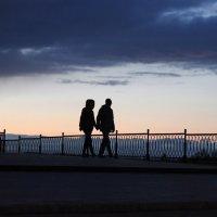 Пара в закате :: Julia Novoselova