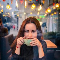 утренний кофе..... :: Александр Александр
