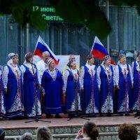 День России по - Малаховски. :: Олег Пучков