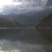 Облачный закат, озеро Гижгит :: M Marikfoto