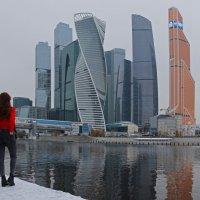 Москва-Сити :: skijumper Иванов