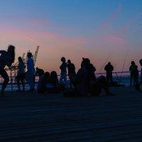 Вечер на море :: Сергей Форос