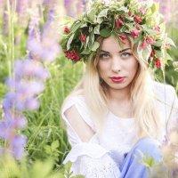 Фотосессия в люпиновом поле :: Марина Ивженко