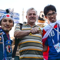 Чемпионат мира по футболу в Москве 16-06-2018... :: Юрий Яньков