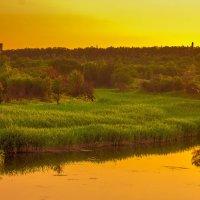 Озеро Меловое на закате :: Анна Вязникова