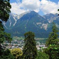 Альпы...Австрия...Innsbruck :: Galina Dzubina