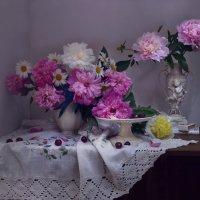 Пионовый рай... :: Валентина Колова