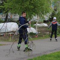В сквере :: Вячеслав & Алёна Макаренины