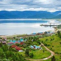 Южный берег Байкала, из окна локомотива :: Алексей Белик