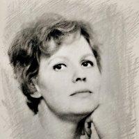 Портрет в стиле ретро :: Сергей Беличев