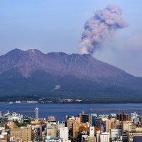 Извержение вулкана Сакурадзима :: slavado