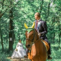 На коне :: Анна Вязникова