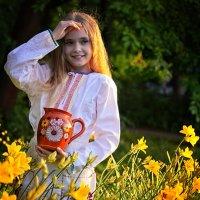 Девочка с кувшином :: Тамара Рубанова