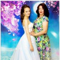 Я с дочкой перед выпускным :: Наталья Мерзликина