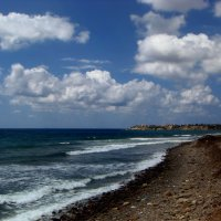 Какую сказку рассказать тебе? О белых облаках, над синим морем? :: Ольга Русанова (olg-rusanowa2010)