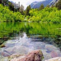 Первое  Бадукское озеро :: Вячеслав Случившийся