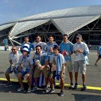 Уругвайцы на стадионе Самара Арена :: MILAV V