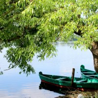 пейзаж с лодками :: Татьяна